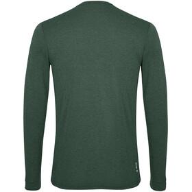 SALEWA Solidlogo Dry T-Shirt À Manches Longues Homme, deep forest melange